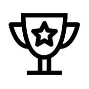 Award Trophy logo