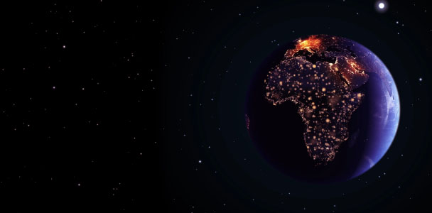 Africa seen from space
