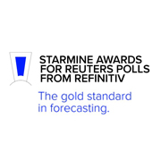 Starmine Awards for Reuters Polls logo
