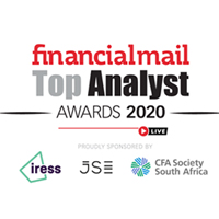 Financial Mail Top Analyst Award 2020